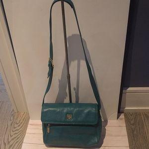 🌺🌸 Genuine leather bag by Liz Clariborne 🌸🌸